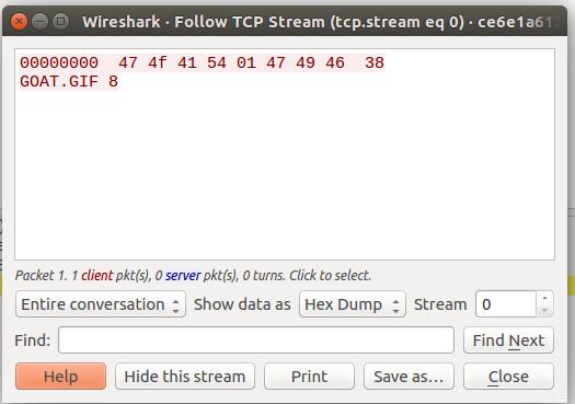 TCP Stream 0