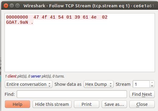 TCP Stream 1